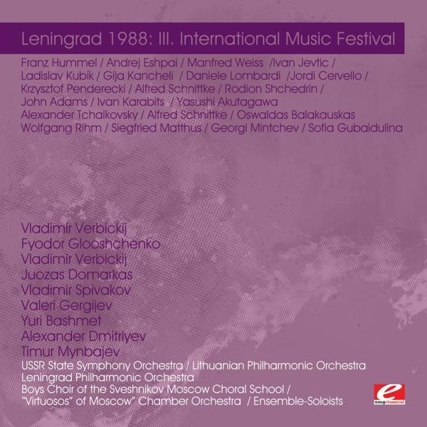 Альбом: Leningrad 1988: III. International Music Festival (Digitally Remastered)