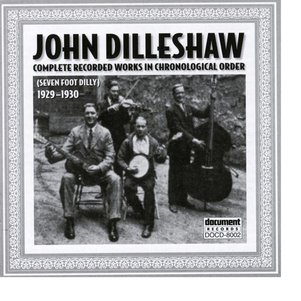 Альбом: John Dilleshaw 1929 - 1930