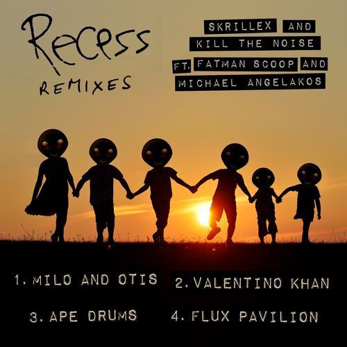 Skrillex, Kill The Noise, Fatman Scoop, Michael Angelakos - Recess (feat. Fatman Scoop and Michael Angelakos) [Ape Drums Remix]  (2014)