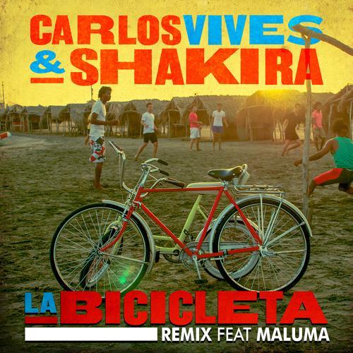 Carlos Vives, Shakira, Maluma - La Bicicleta (Remix)  (2016)