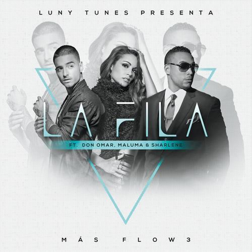 Luny Tunes, Don Omar, Sharlene, Maluma - La Fila  (2016)